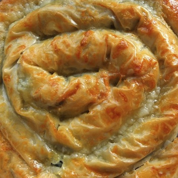 Spinach and cheese Borek